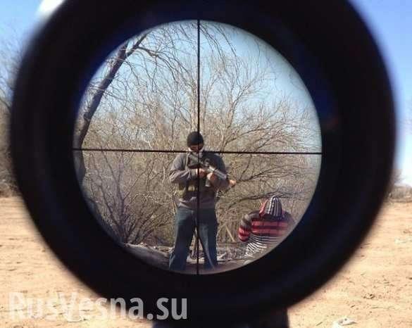 Снайперы ДНР наводят ужас на врага (ВИДЕО) | Русская весна