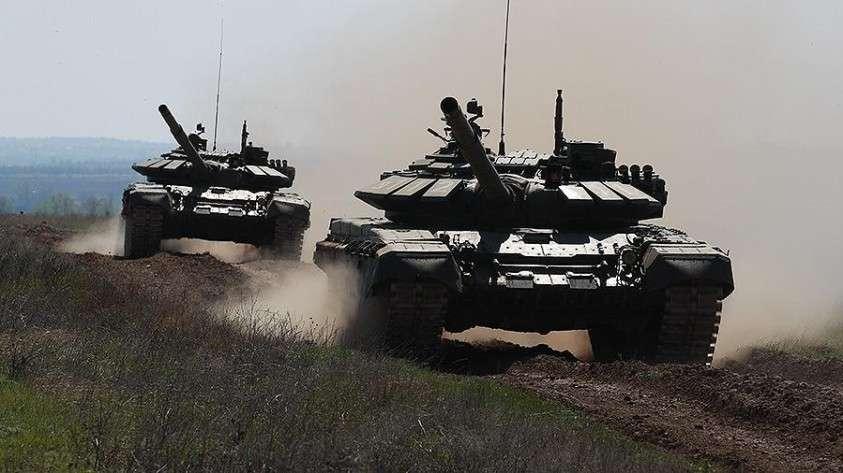 Сирия. Танк Т-72 выдержал атаку ПТУР