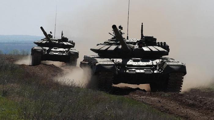Сирия. Танк Т-72 выдержал атаку ПТУР американских наёмников