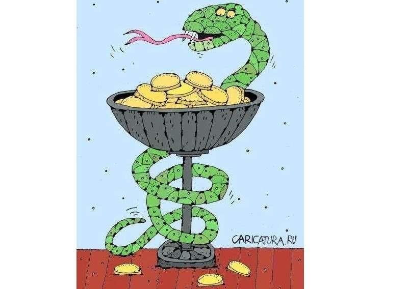 Сколько тонн нефти приносит один змеиный укус в США?