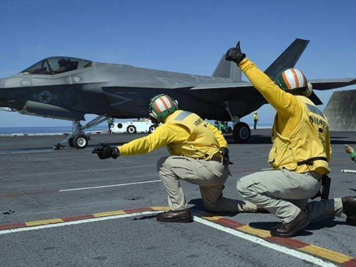 F-35 оказался голым: секрет стелс-технологий раскрыт и он стирается