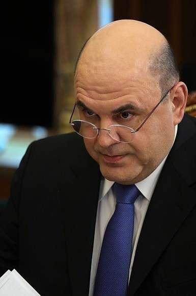 Руководитель Федеральной налоговой службы Михаил Мишустин.