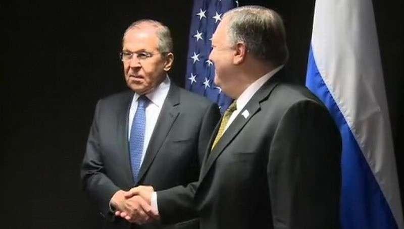 Сергей Лавров заявил о прогрессе на переговорах с Майком Помпео