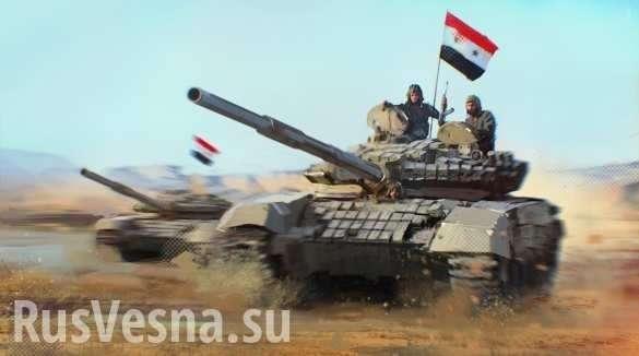 Армия Сирии и ВКС России нанесли мощный удар по зоне «Идлиб», оборона боевиков прорвана | Русская весна