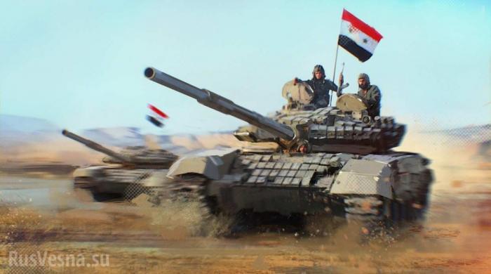 Армия Сирии и ВКС России нанесли мощный удар по зоне «Идлиб», оборона боевиков прорвана