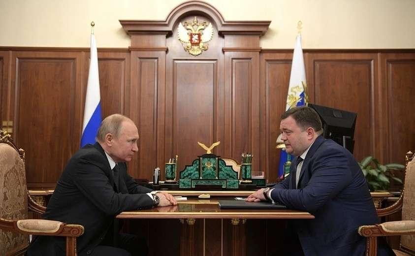 Рабочая встреча с председателем Промсвязьбанка Петром Фрадковым.
