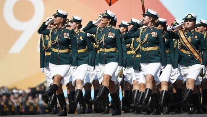 В Москве на Красной площади прошла генеральная репетиция Парада Победы