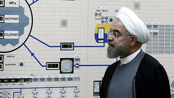 Президент Ирана Хасан Рухани посещает АЭС в Бушере