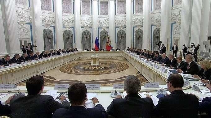 Заседание Совета по стратегическому развитию и национальным проектам
