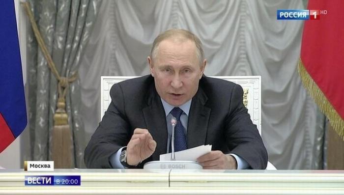 Владимир Путин обозначил приоритеты и главные проблемы национальных проектов России