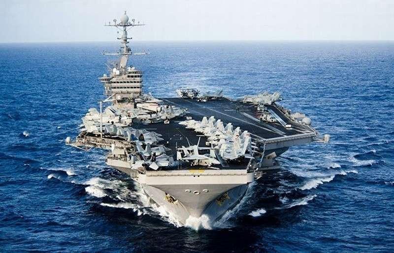 Самоплавающий американский блеф водоизмещением 100000 тонн