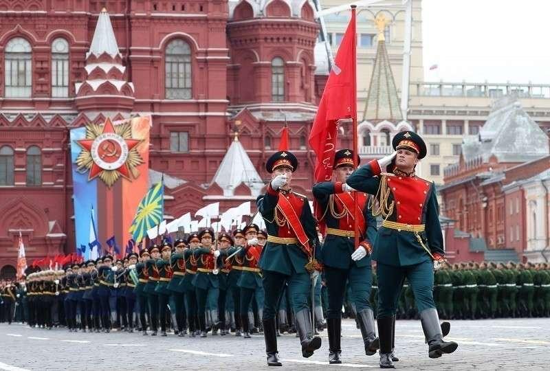 Парад Победы на Красной площади. Москва. 9 мая 2019. Прямая трансляция