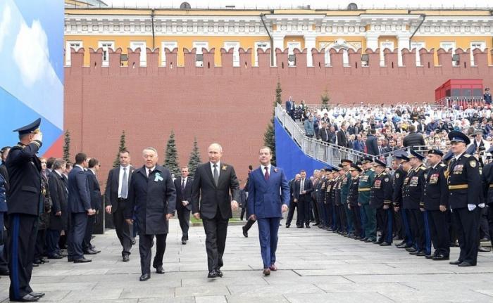 Выступление Владимира Путина на Параде Победы: «Уроки прошедшей войны по-прежнему актуальны»
