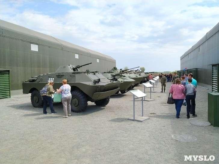 В Туле открылся первый региональный парк «Патриот»