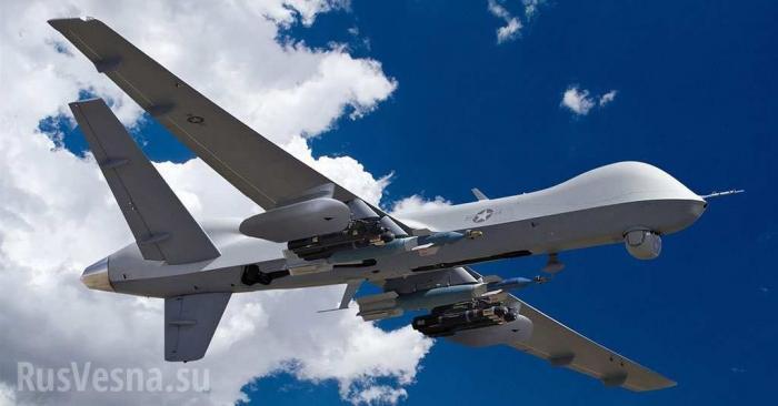 Кадры перехвата беспилотника MQ-9 Reaper США появились в сети