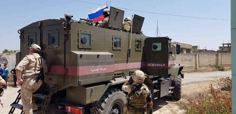 Сирия, Восточная Гутта: военную полицию России встречают в бывшей крепости боевиков