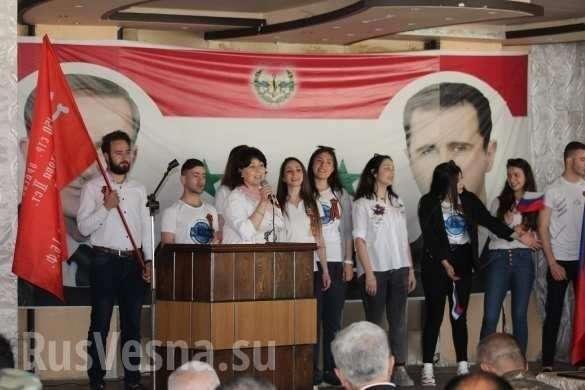 Сирия: «Бессмертный полк» прошёл по улицам Алеппо (ФОТО) | Русская весна