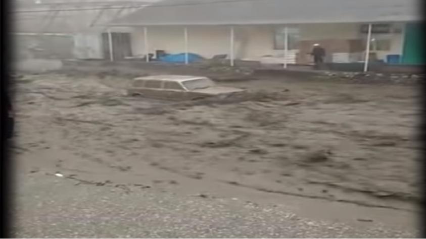 В Дагестане селевой поток унёс стадо коров и легковые автомобили