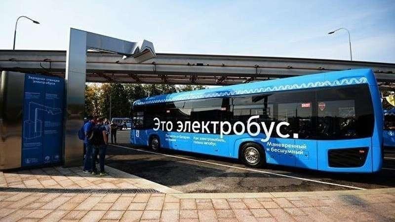 Москва стала лидером по числу электробусов в Европе