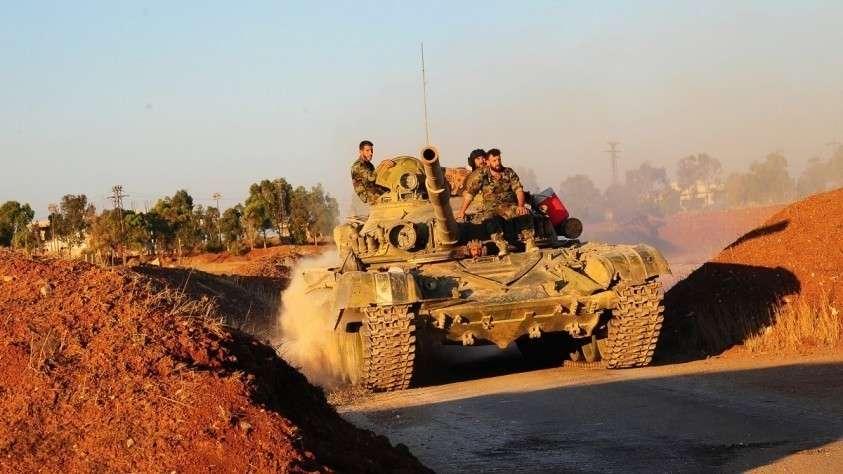 Сирийские военные уничтожили командный пункт и оружейные склады американских наёмников
