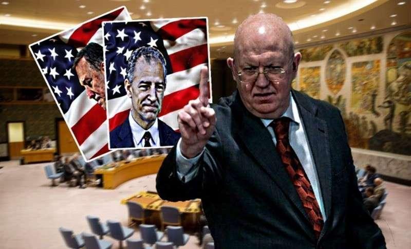 Василий Небензя вынудил представителя США извиниться за требование Госдепа «убираться из Венесуэлы»
