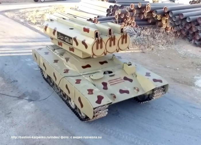Сирийский «ракетный монстр» на базе Т-72: наёмникам США остается только молиться
