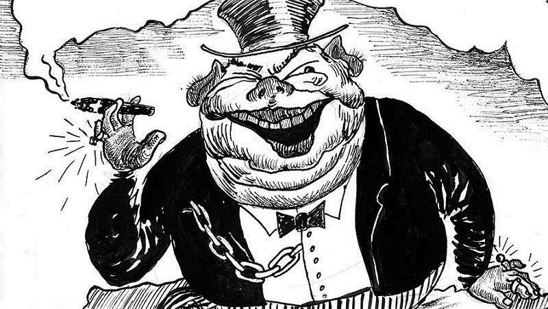 Неправильные капиталисты и меценаты в Российской Империи