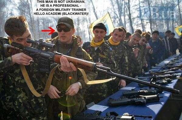 Профессиональные военные инструкторы в Украине