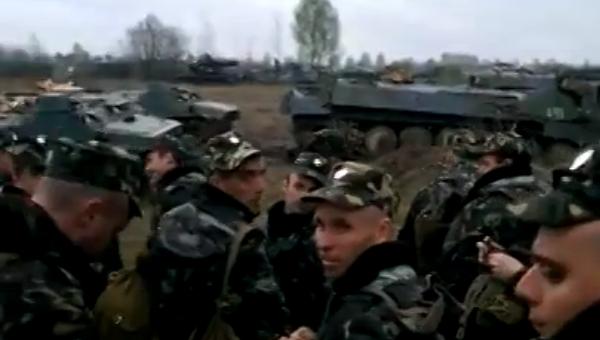 На Западной Украине взбунтовались голодные и замёрзшие солдаты