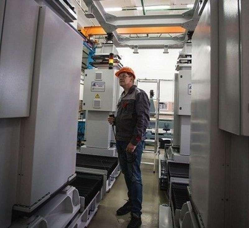 В Ульяновске собрана первая отечественная роботизированная линия для сборки крупных самолётов