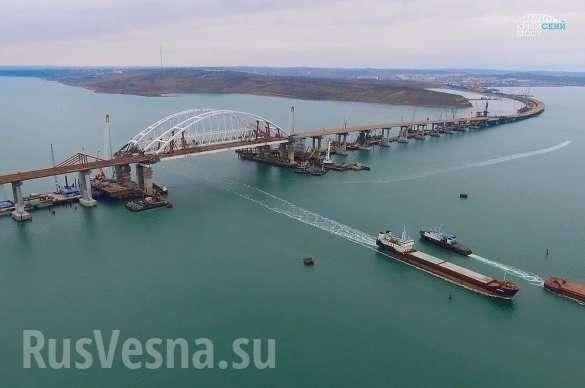 Крымский мост: итоги первого года | Русская весна