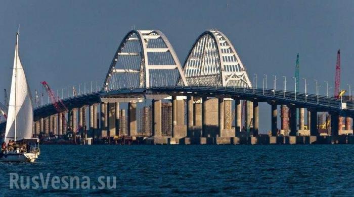 Крымский мост: итоги первого года