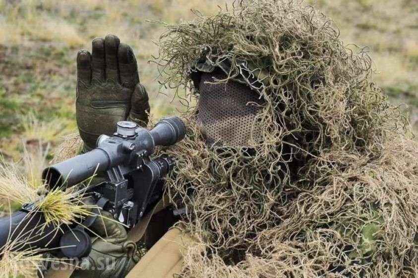 Донбасс: снайпер уничтожил украинского «Питбуля», мстившего за смерть «Ведьмы» (ФОТО)