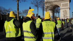 В Париже проходит очередная акция протеста «жёлтых жилетов»