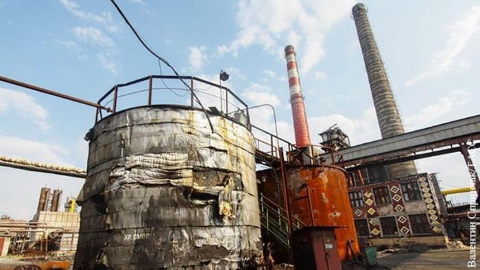 Еврейская хунта превратила промышленность Украины в выжженную землю