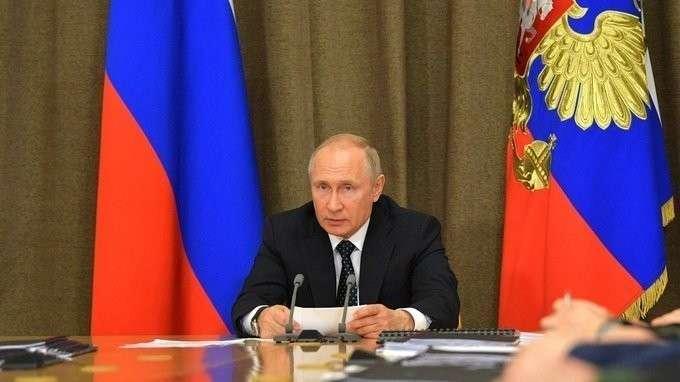 Совещание с руководством Министерства обороны и предприятий ОПК