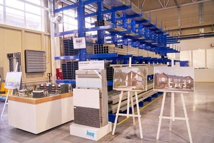 Завод по производству систем для модульного домостроения открыли в Подмосковье