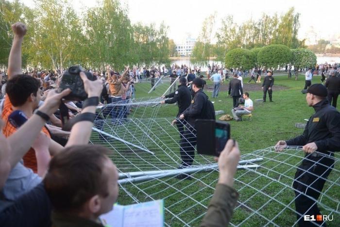 Развели как кроликов. «Битва за Сквер» в Екатеринбурге