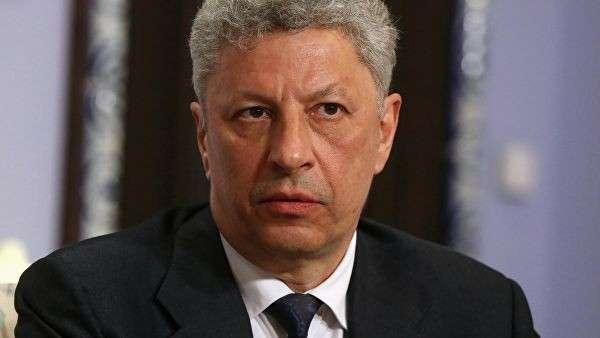 Кандидат в президенты Украины Юрий Бойко