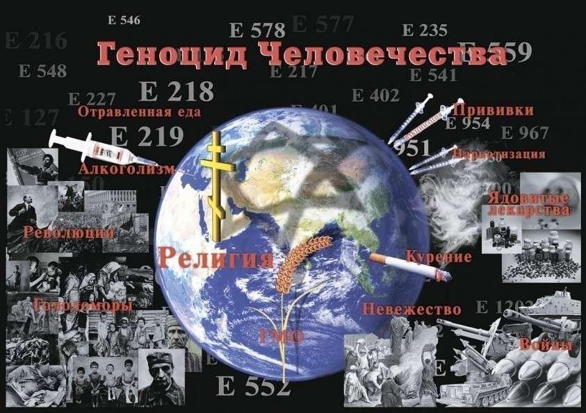 Войны против людей – это настоящий геноцид Человечества