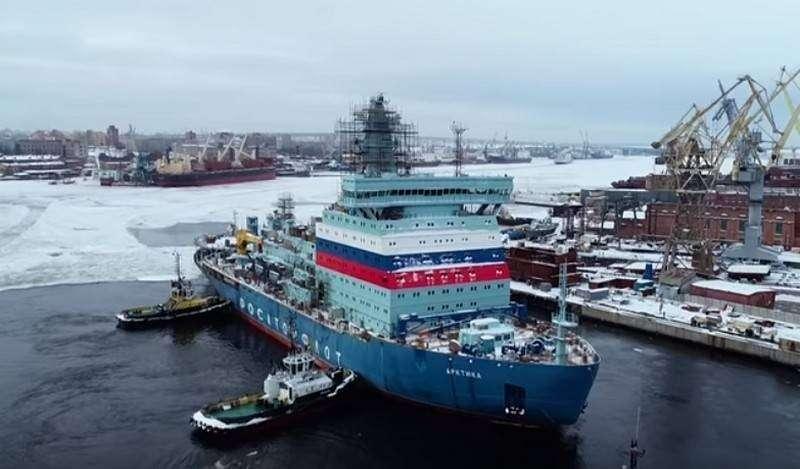 На первом атомном ледоколе проекта 22220 «Арктика» начата загрузка ядерного топлива