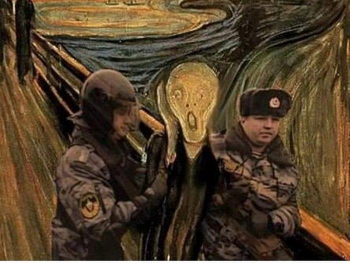 Россия гибнет из-за чудовищного побоища в Екатеринбурге, не так ли?