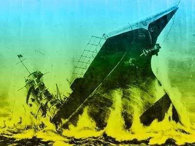 Украина - брошенный, тонущий авианосец