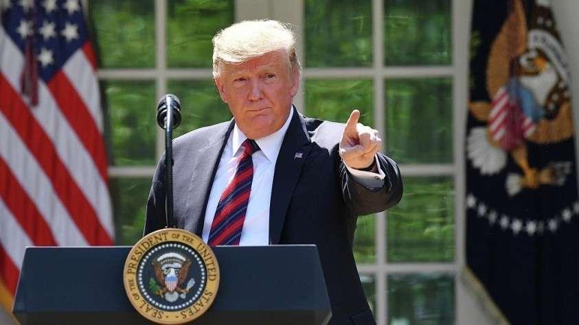 Трамп остановил
