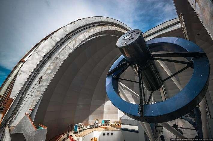Экскурсия на самый большой в Евразии телескоп