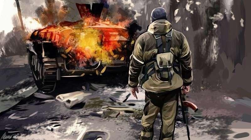 Как спецназ ЛНР уничтожал банды нацистских карателей из «Айдара»
