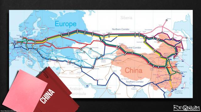 Китай и Россия строят шёлковый путь и успешно держат оборону от США