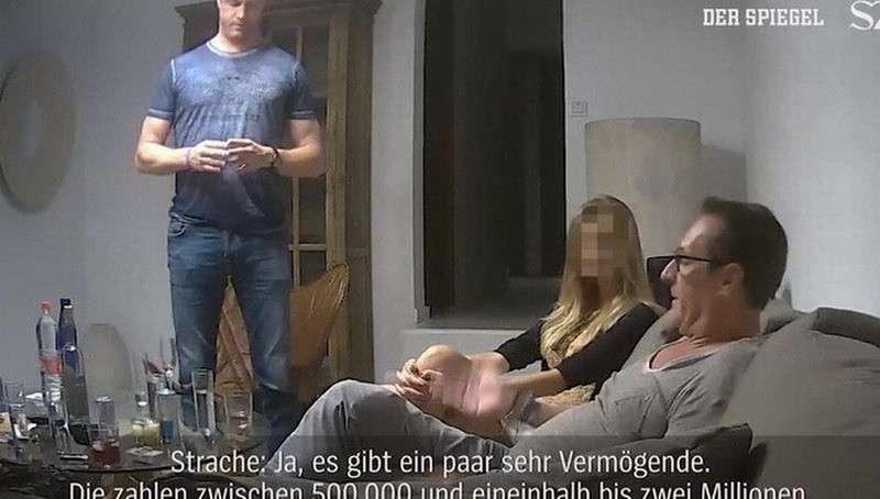 Тайная видеозапись спецслужб Хайнц-Кристиана Штрахе разрушила правящую коалицию Австрии