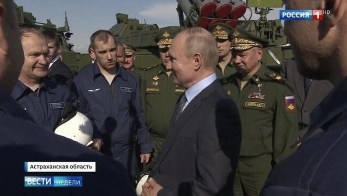 Владимир Путин поставил задачу российским оружейникам