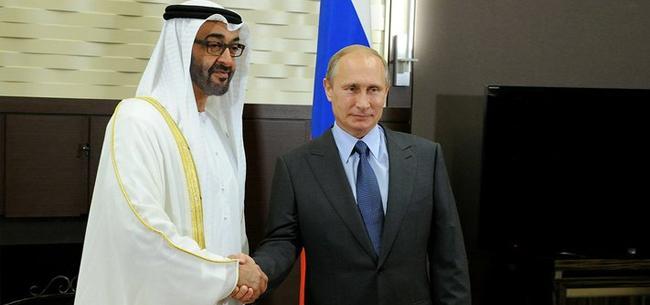 Путин встретился с наследным принцем эмирата Абу-Даби
